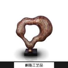 树脂工艺品 创意抽象树脂工艺品摆件 树脂雕塑仿玉工艺品 透明树脂制品批发