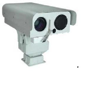 超远距离远程透雾安防视频监控云台红外热成像激光夜视摄像机