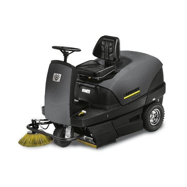 肇庆专业销售豪华低速耐用的德国凯驰驾驶式汽油驱动清扫机
