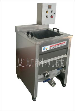 艾斯科机械小型燃气油水混合油炸锅