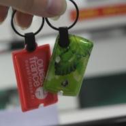 动漫 个性 游戏PVC带灯钥匙扣图片