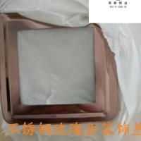 304 不锈钢钛金方管外径40*40*1.0