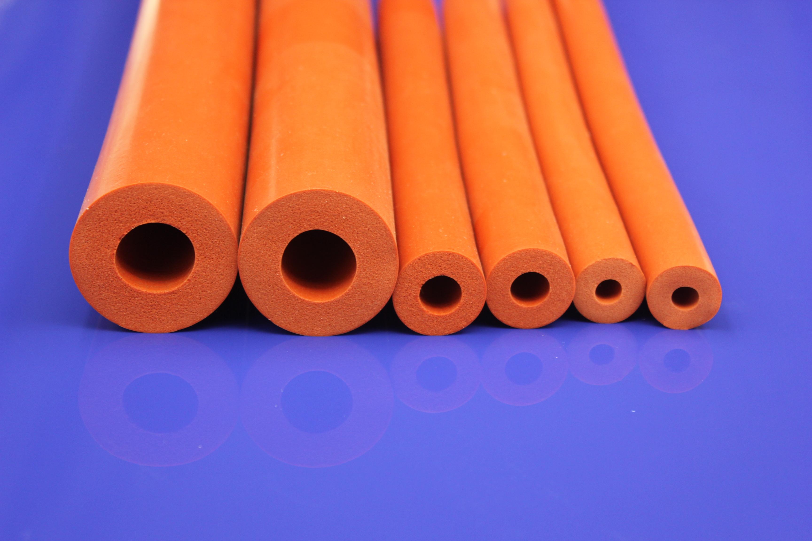 硅胶发泡制品,管,条 订制海制硅胶发泡管,条 深圳硅胶发泡条优质厂家