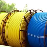 陕西乾县PE硅芯管、吹缆硅芯管图片