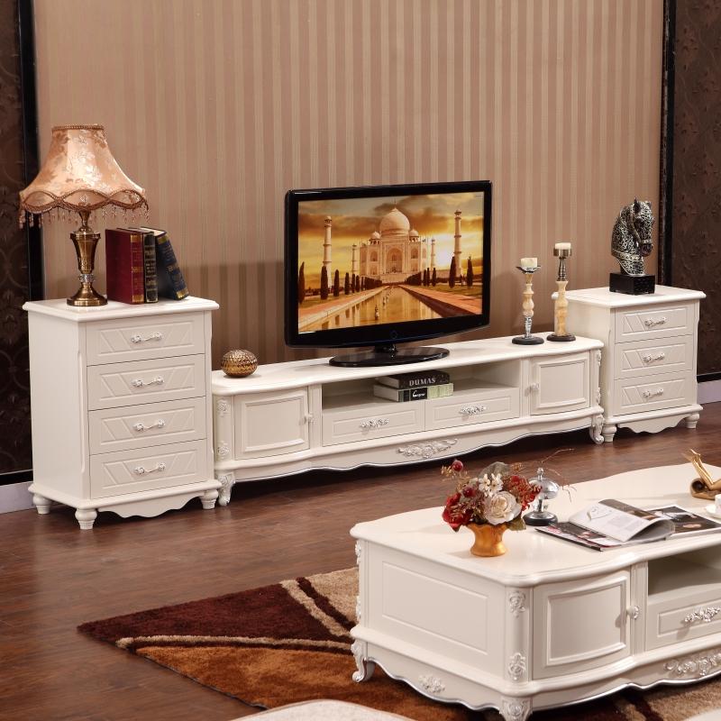 欧式美式大理石茶几电视柜组合套装客厅办公家具地柜 大理石茶几价格