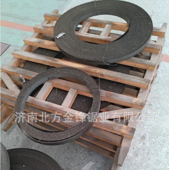 工厂供济南带锯条锯条型号34*1.1 锯条生产线锯条量大价格优惠
