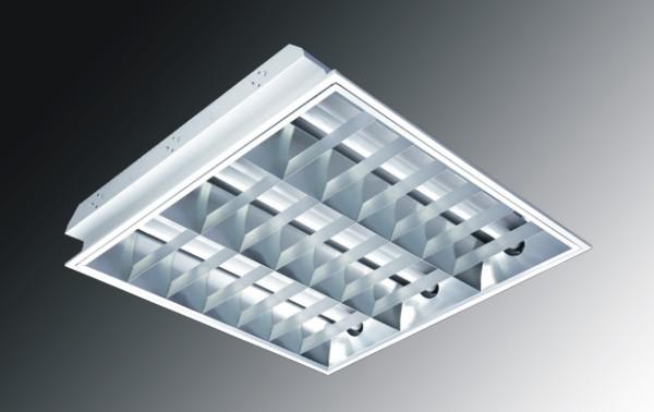 供应嵌入式格栅灯盘 兴华照明 嵌入式格栅灯盘 嵌入式格栅灯盘600*600