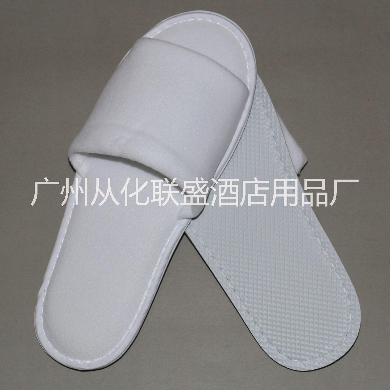 高档一次性丝绒拖鞋 酒店宾馆专用白色一次性拖鞋 高档非一次性丝绒拖鞋