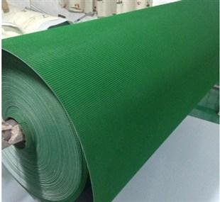广州生产绿色PVC卷料批发 PVC输送带 裙边输送带