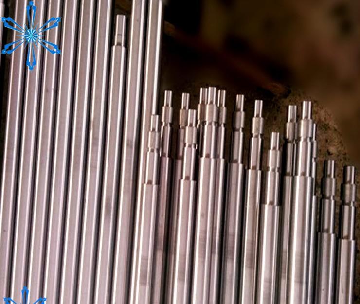 不锈钢梯形丝杠10*2方法兰铜螺,单件起订端部加工发货快