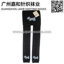 供应广州袜子厂纯棉高档儿童棉袜裤图片