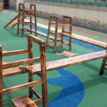 幼儿园幼儿用床 碳化积木攀爬架 幼儿用床 碳化积木 组合攀爬架