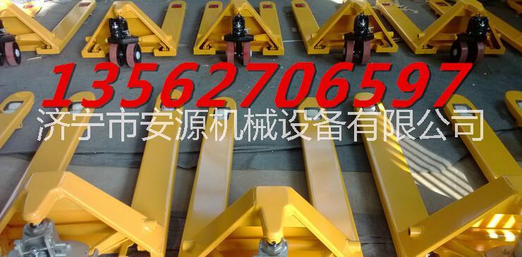 2.5吨手动液压搬运车 叉车 2.5吨手动液压搬运车叉车