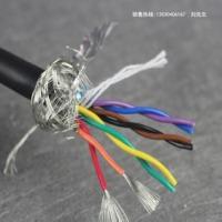 多芯信号控制电缆8芯 0.2平米双绞屏蔽线RVSP4*2*0.2