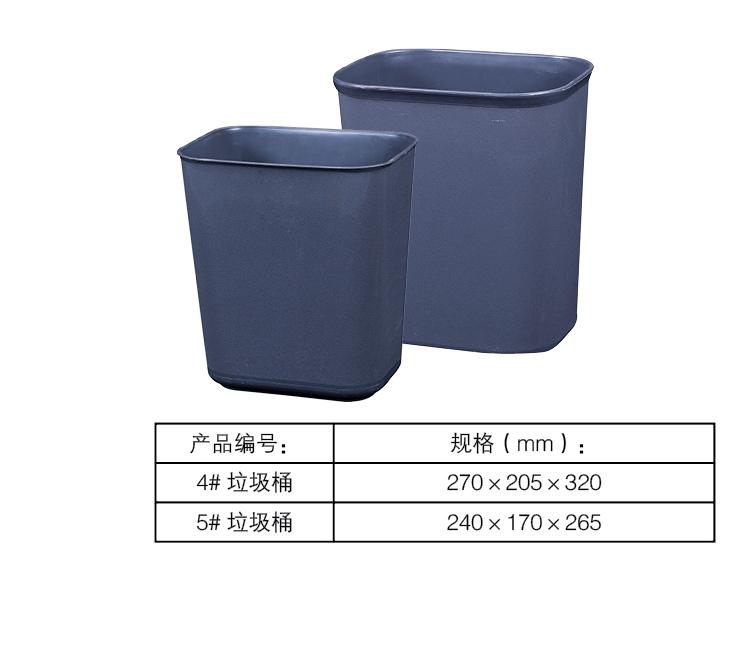 垃圾桶又名废物箱或垃圾箱,就是装放垃圾的地方。多数以金属或塑胶制,用时放入塑料袋,当垃圾一多便可扎起袋丢掉。多数都有盖以防垃圾的异味四散,有些垃圾桶可以以脚踏开启。垃圾桶是人们生活中藏污纳垢的容器,也是社会文化的一种折射。家居的垃圾桶多数放于厨房,以便放置厨余。有些家庭会在主要房间都各置一个。有些游乐场的垃圾桶会特别设计成可爱的人物。 垃圾桶就使用场合可分为公共垃圾桶和家庭垃圾桶。就盛放垃圾形式可分为独立式和分类式。就加工材料可分为塑料的、不锈钢的、陶瓷的、木质的、水泥的和纸浆的等等。就开启方式有敞口式