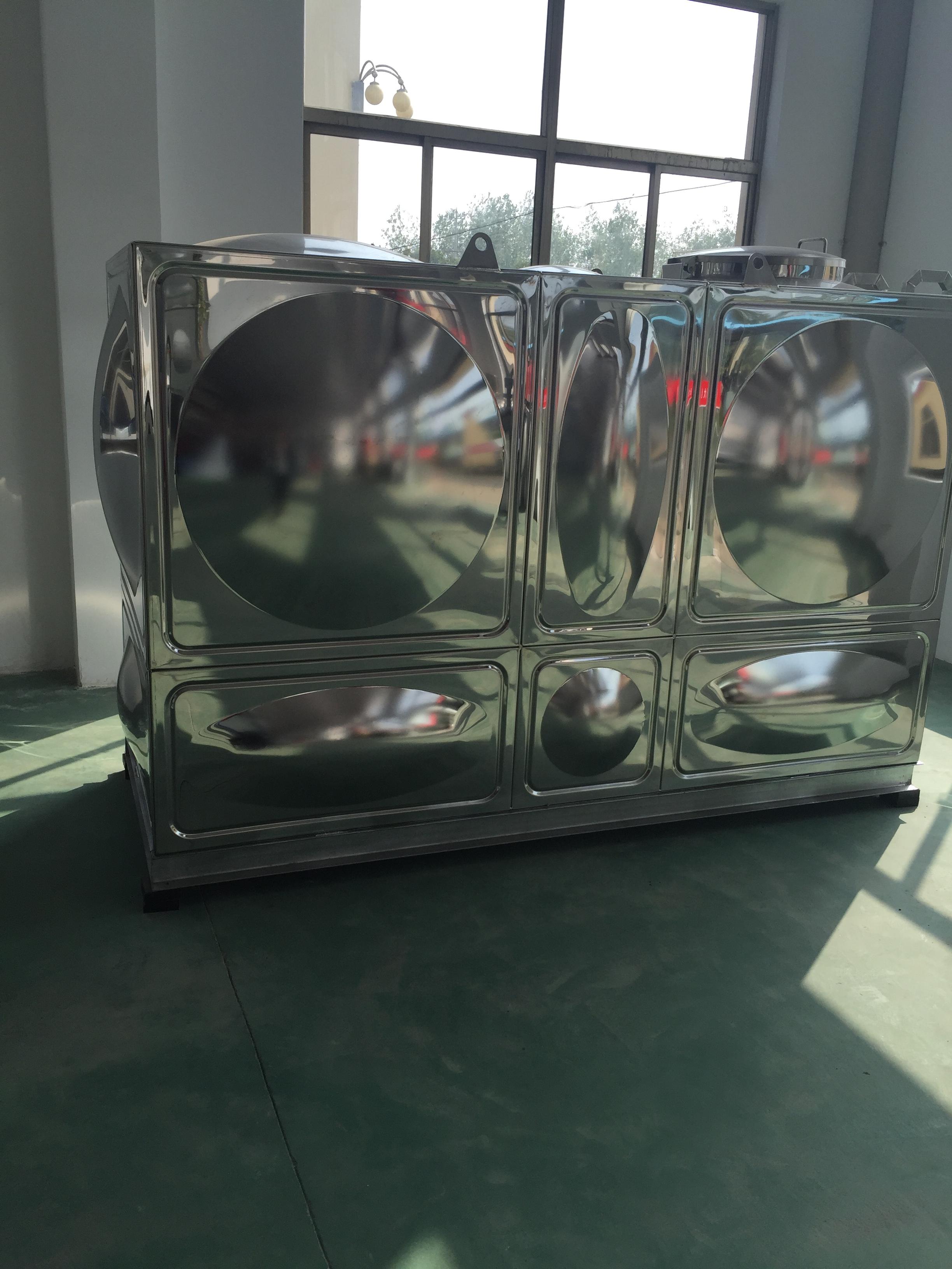 不锈钢保温水箱 方型不锈钢消防水 江苏不锈钢水箱厂家直销 扬州不锈钢消防供水设备