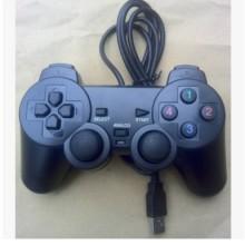 单打单振动游戏手柄厂家 PS2外型USB手柄游戏手柄图片