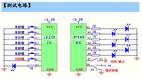 收发模块 JF24D-TX/RX图片/收发模块 JF24D-TX/RX样板图 (3)