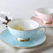 唐山西式骨瓷咖啡杯陶瓷花茶杯碟图片