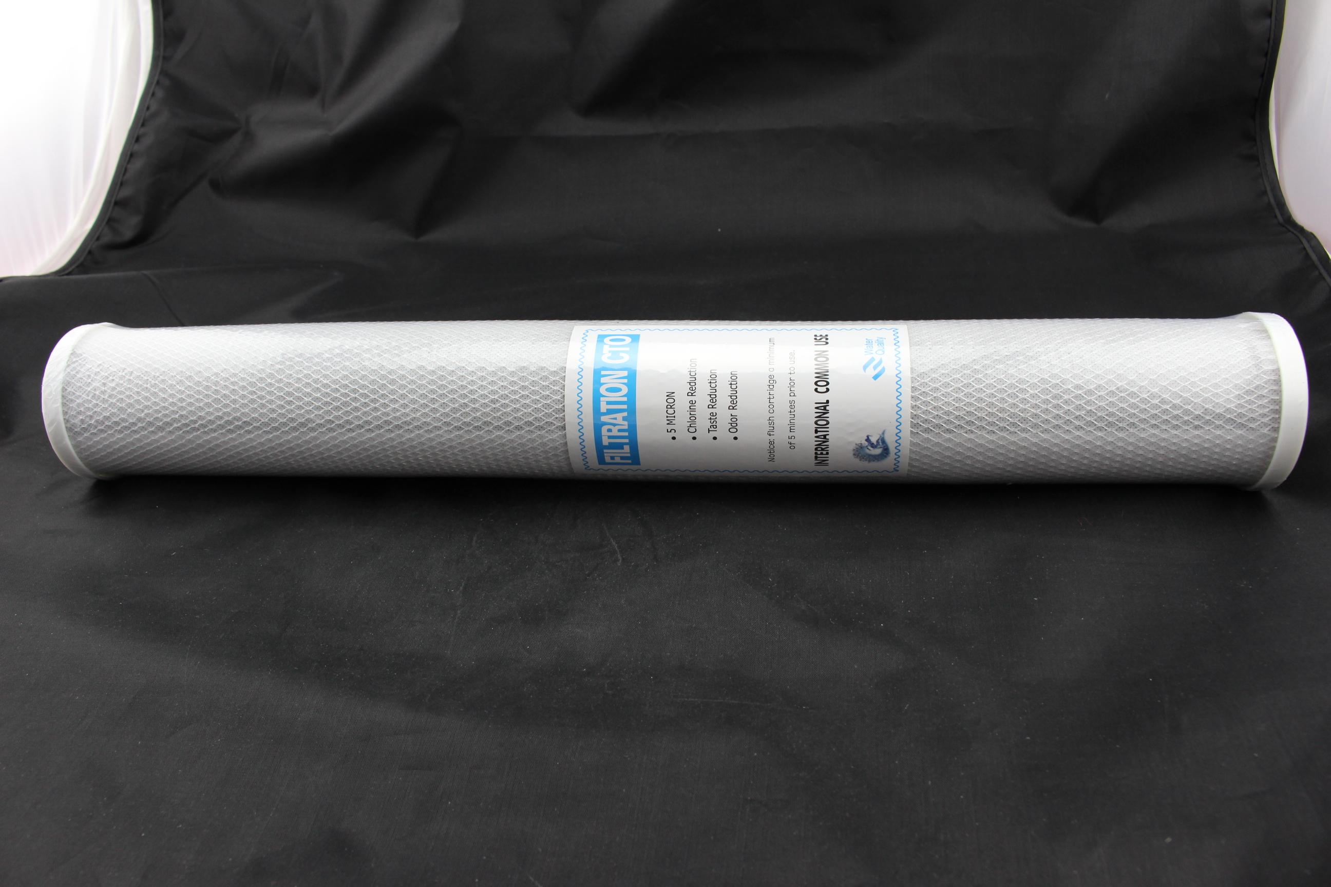 20寸压缩活性碳 碳棒滤芯 20寸碳棒滤芯块状网碳