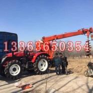 东风1004 拖拉机挖坑机 电线图片