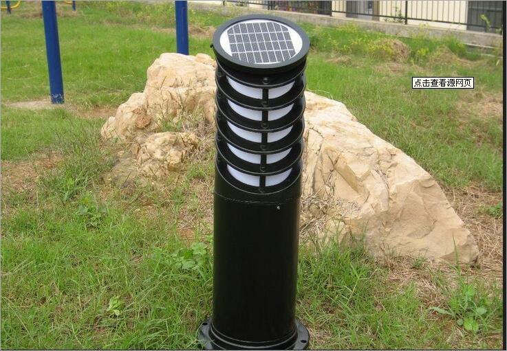太阳能草坪灯LED 太阳能柱头灯景观灯欧式庭院灯厂家直销外壳