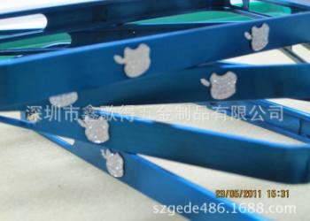 饰品盒蓝色电镀图片