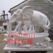 汉白玉大象图片