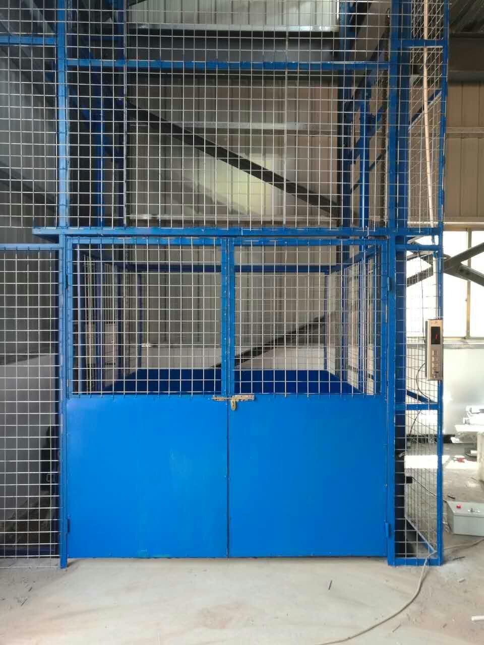 固定式升降平台  升降梯厂家固定式液压升降平台导轨式升降货梯工厂简易货梯 固定式升降平台
