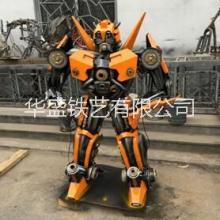 变形金刚擎天柱汽车机器人大型变形金刚机器人擎天柱金属汽车人模型1米5高 变形金刚擎天柱汽车机器人