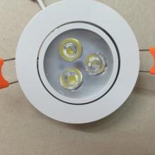 白色款LED大功率天花灯 白色款天花灯厂家 嵌入式天花灯价格批发