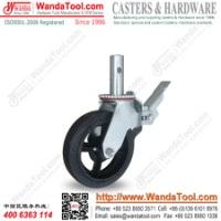 出口美国脚手架脚轮铸铁脚轮 铸铁脚轮厂家报价 铸铁脚轮生产厂家