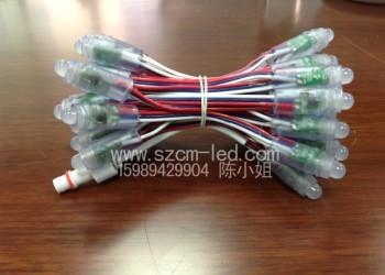 深圳龙华厂家生产LED全彩喷绘屏图片