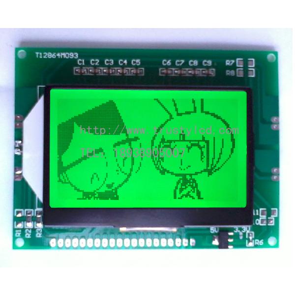 考勤机专用单色LCD液晶显示模组