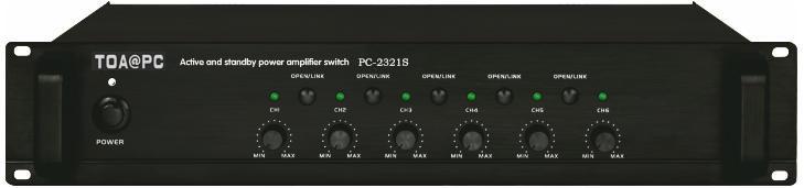 主/备功放切换器PC-2321S TOA主/备功放切换器厂家