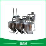 厂家供应豆皮机设备 质量好 产量高的机器 仿手工豆腐皮机去哪里买