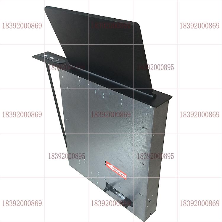 触摸超薄电脑液晶屏升降一体机 会议桌触摸液晶屏升降一体机