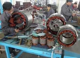 广州电机转轴磨损或擦伤故障的修理零部件更换各类进口电机销售
