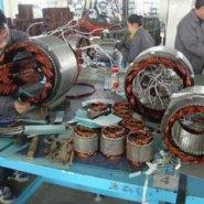 广州电机转轴磨损或擦伤故障的修理图片