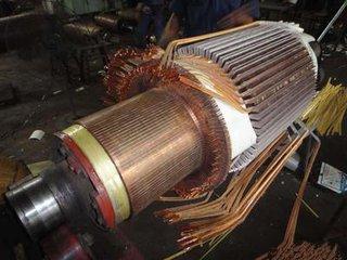 广州电机转速不正常故障的修理零部件维修更换各类电机销售
