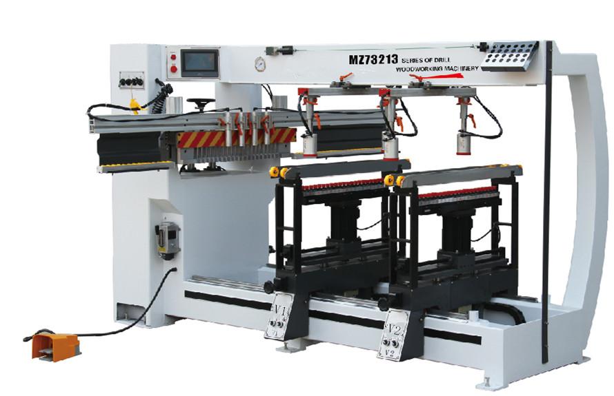 MZ73213A三排多轴木工钻床  导轨型三排多轴木工钻床  三排多轴木工钻床价格