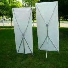 KT板挂画架 厂家长期供应批发 可调KT板双面挂画架 三角挂画架图片