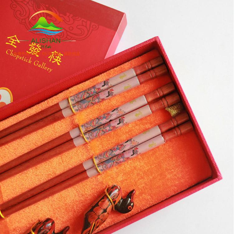 2双装婚庆礼盒筷子 喜庆送礼用品