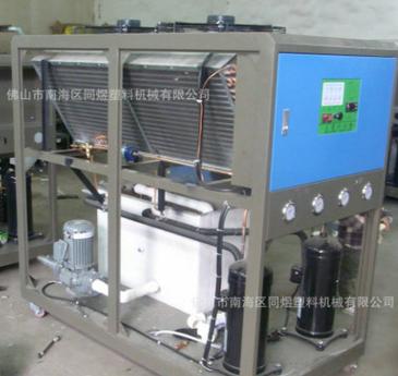 厂家直销接触水部位全部为304不锈钢材质的10匹风冷冷水机