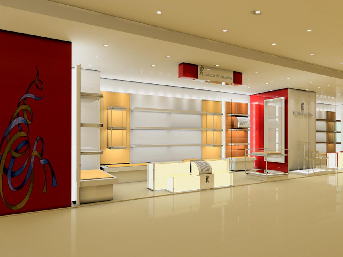 品牌包包专卖店  店面设计