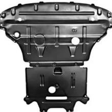 供应奥迪q5新型钛合金发动机护板3D全包围型2件套钛镁合金材质批发