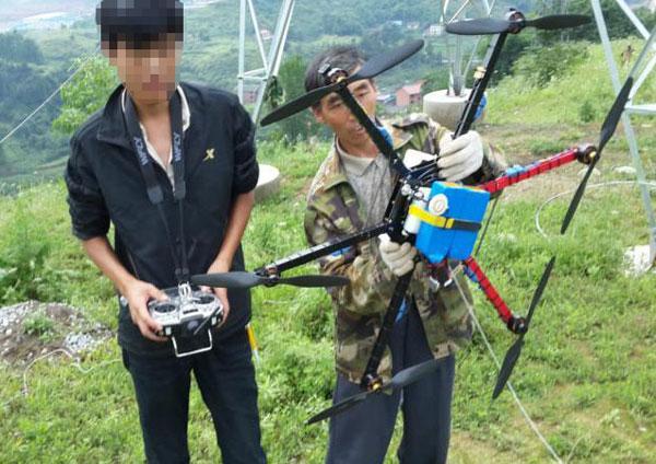 无人机电力架线销售