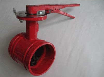 水泥罐、石粉罐放料阀,XD381X涡轮沟槽信号蝶阀结构和制造要求