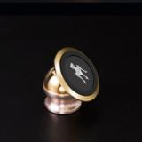 厂家直销订制LOGO旋转磁性高档手机支架磁芯支架导航通用车载磁铁支架批发