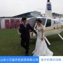 厦门直升机空中婚礼图片